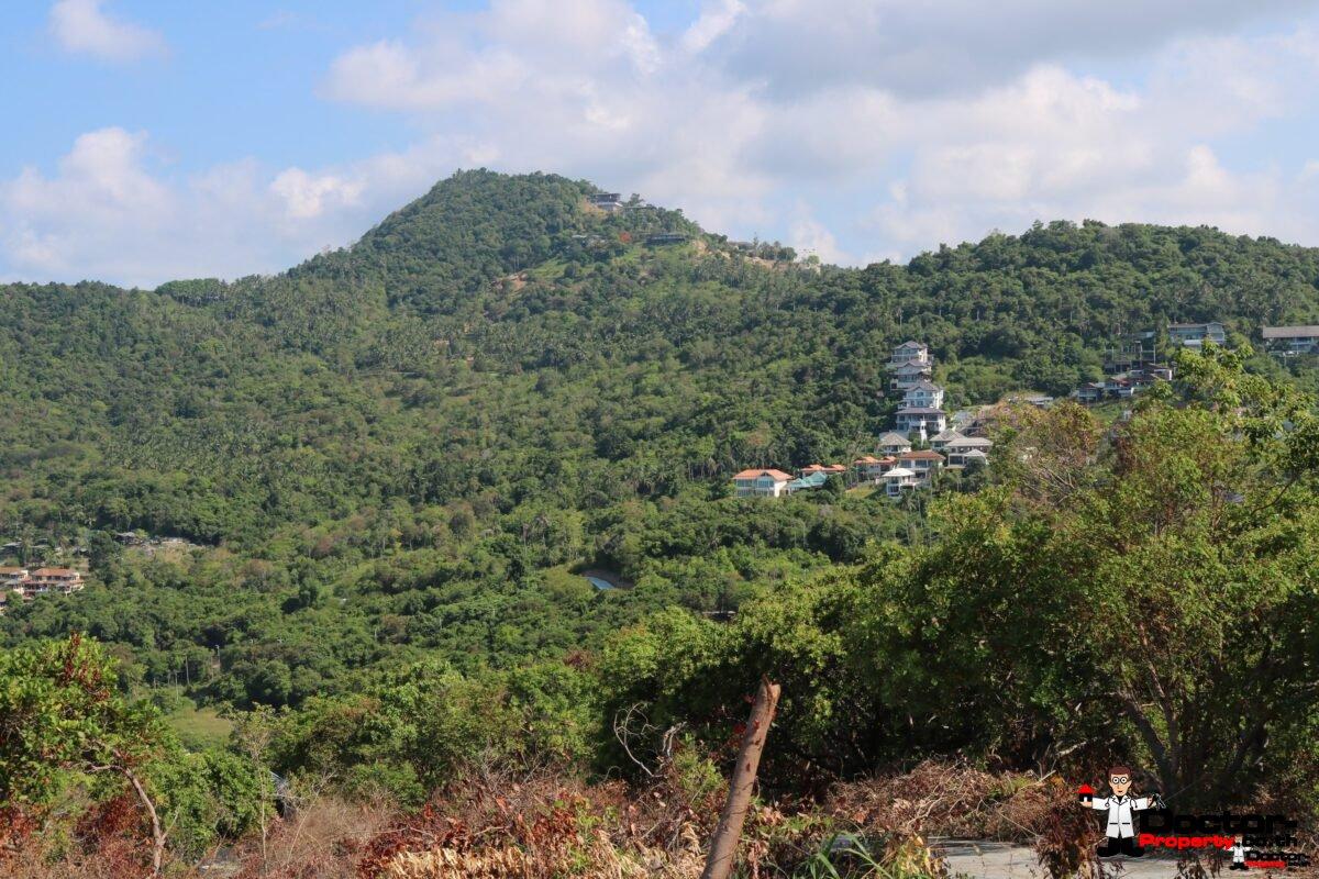 525m² Hilltop Land - Bophut, Koh Samui - For Sale