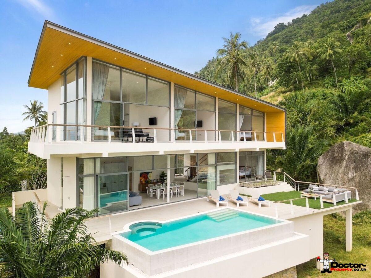 New 4 Bedroom Villa in Lamai Beach - Koh Samui for sale
