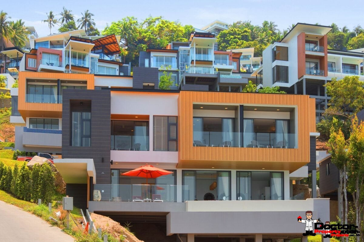Sea View Villa 4 Bedroom Chaweng Noi Koh Samui for sale