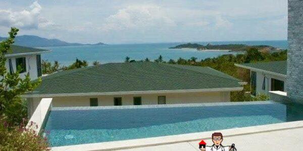 Sea view villa Plai Laem Koh Samui