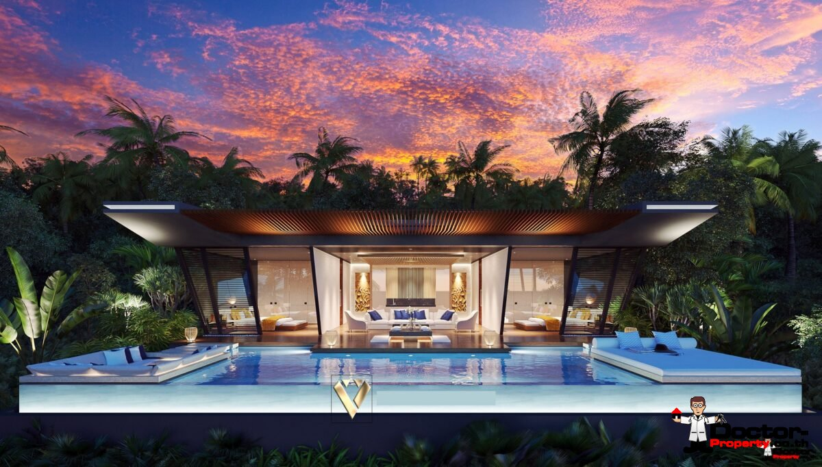 2 Bedroom Villa Choeng Mon Koh Samui for sale