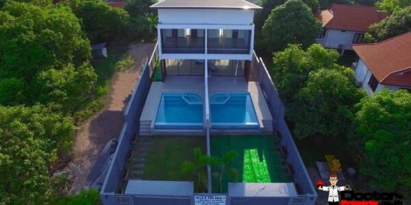 2 Villas with sea view in Choeng Mon Koh Samui for sale