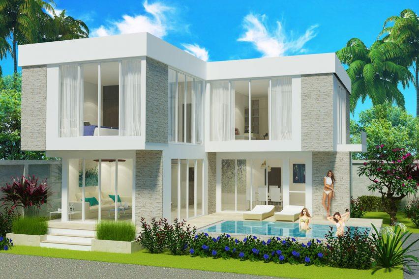 New 3 Bedroom Villa in Ban Tai Koh Samui for sale