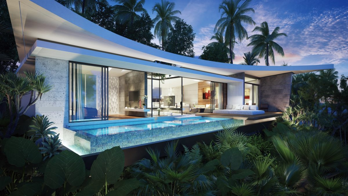 Villa with sea view in Bophut Koh Samui for sale