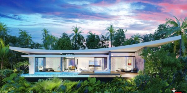Villa with sea view in Bophut Koh Samui for sale