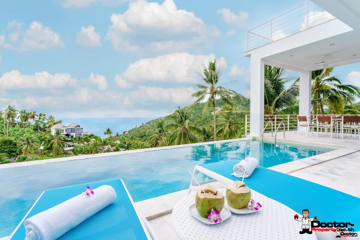 Villa with sea view in Chaweng Noi Koh Samui for sale