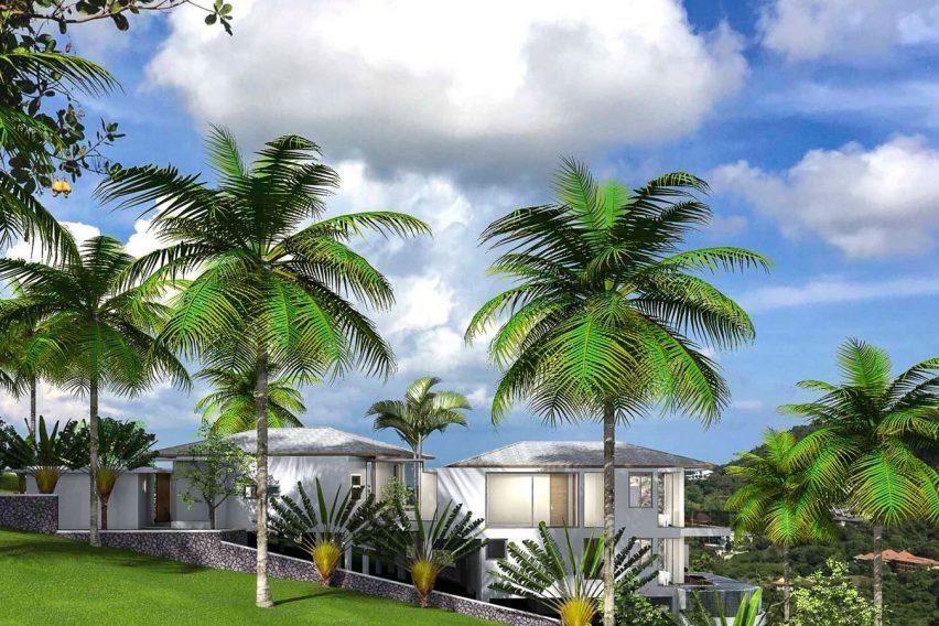 3 Bedroom Villa with sea view in Bophut Koh Samui for sale