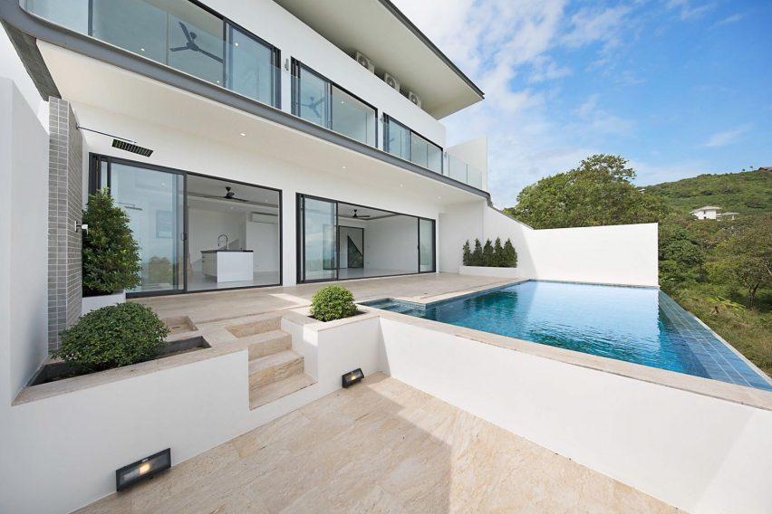 3 Bedroom Villa, Pool and Sea View, Bo Phut, Koh Samui - For Sale