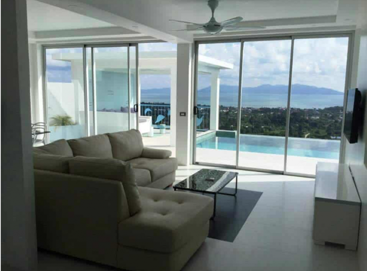 3 Bedroom Villa with Sea View in Bo Phut - Koh Samui - Thailand for sale / Real Estate Doctor Property