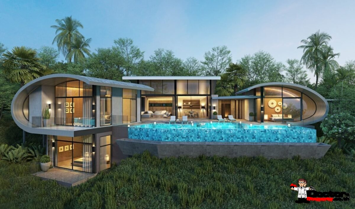 3 Bed Pool Villa, Sea Views, Chaweng Noi, Koh Samui - For Sale - Doctor Property Real Estate