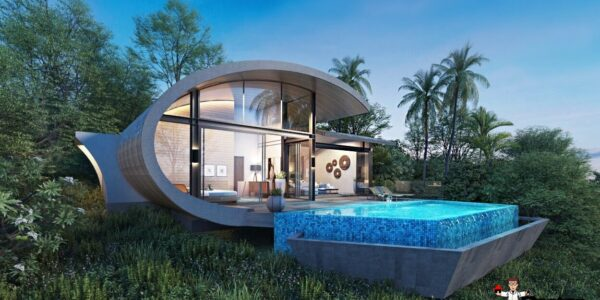 2 Bed Pool Villa, Sea Views, Chaweng Noi, Koh Samui - For Sale
