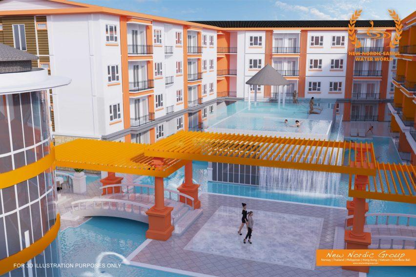 Pool Area - Lamai Waterworld Apartments - Lamai, Koh Samui - For Sale - Doctor Property Real Estate