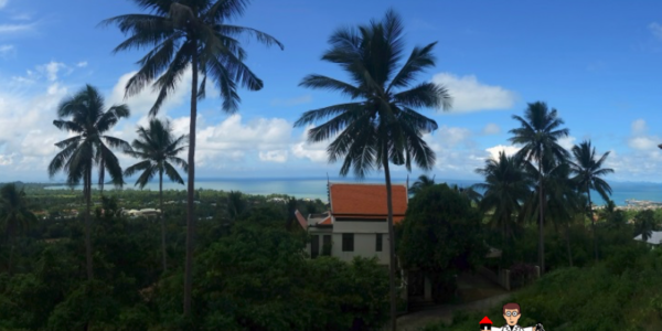 0.42 Rai Sea View Land - Nathon, Koh Samui - For Sale - Doctor Property Real Estate