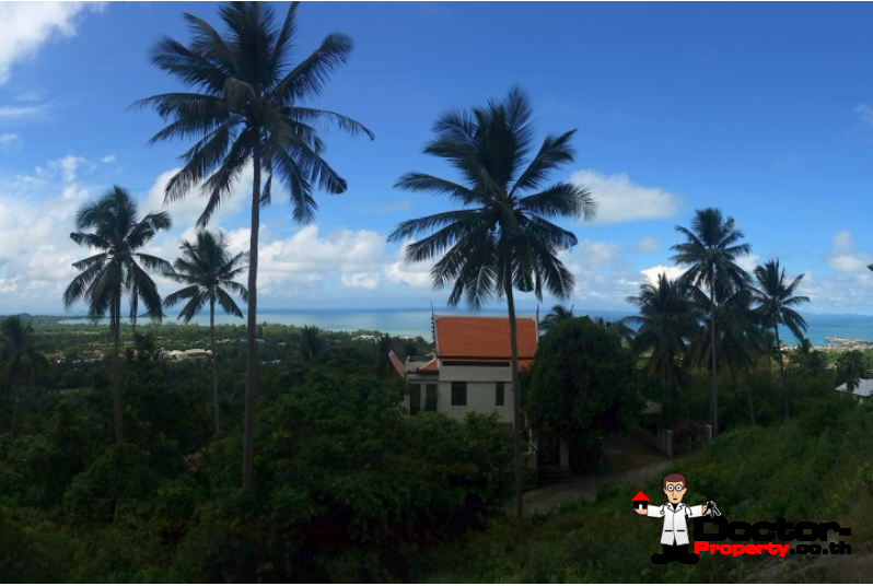 0.42 Rai Sea View Land - Nathon, Koh Samui - For Sale - Doctor Property Real Estate