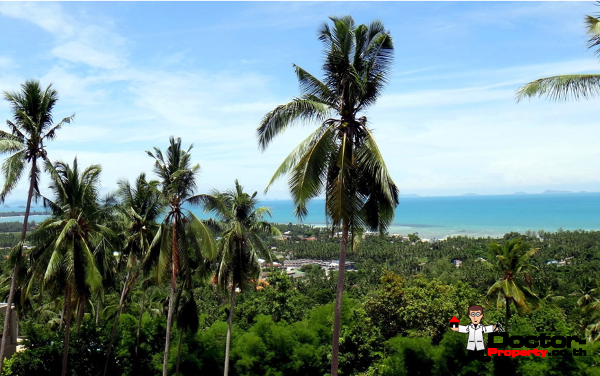 0.57 Rai Sea View Land - Nathon, Koh Samui - For Sale