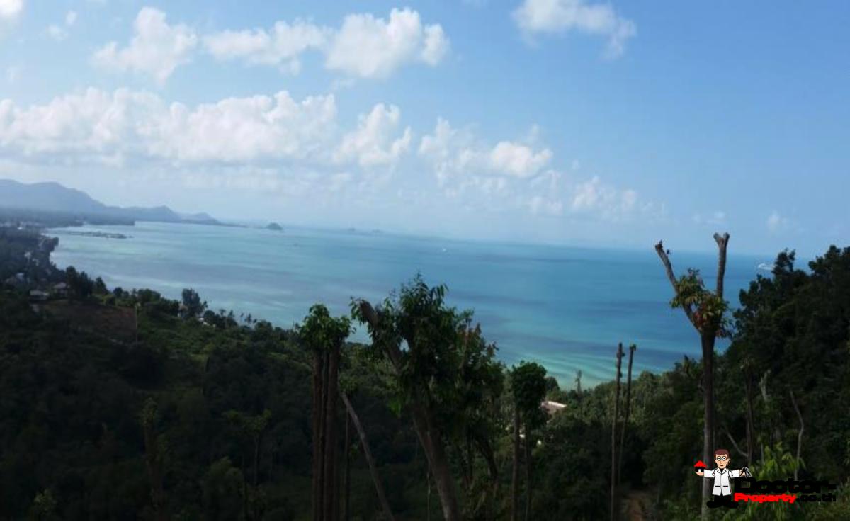 1.5 Rai Sea View Land - Lam Yai, Koh Samui - For Sale - Doctor Property Real Estate