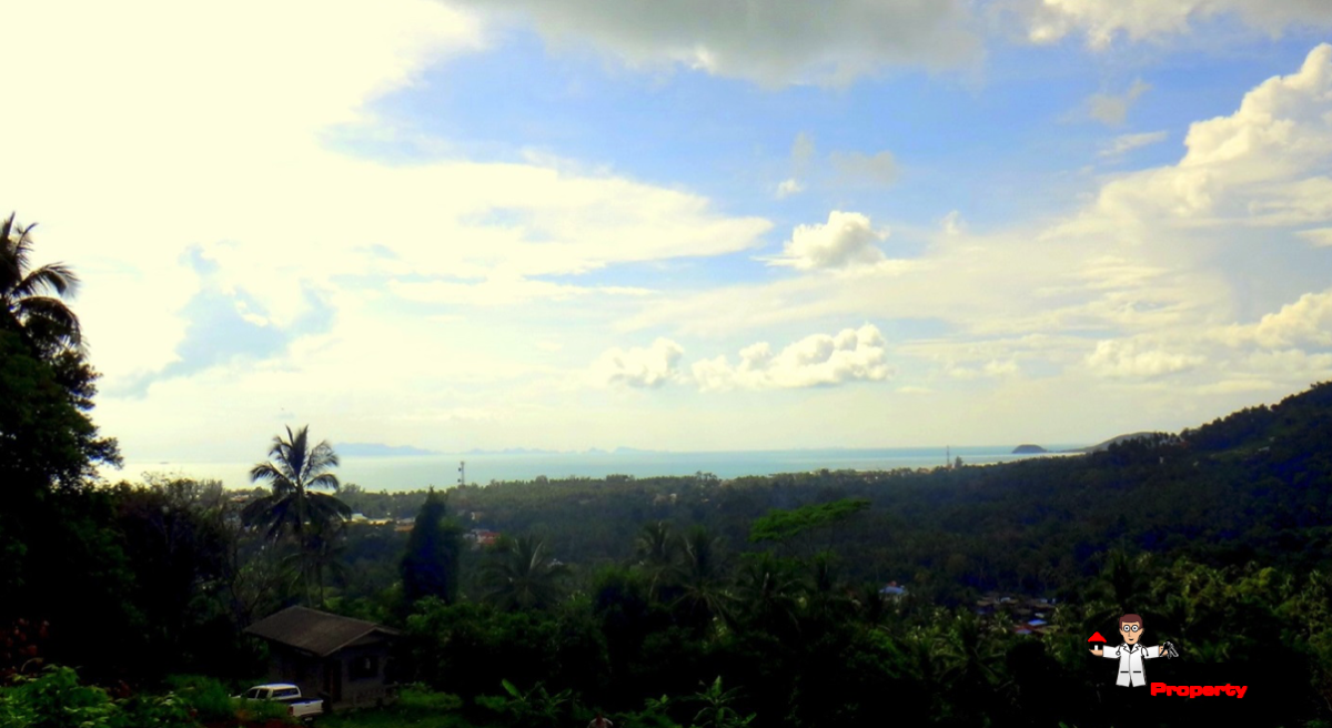 10.5 Rai Sea View Land - Hin Lad, Koh Samui - For Sale - Doctor Property Real Estate