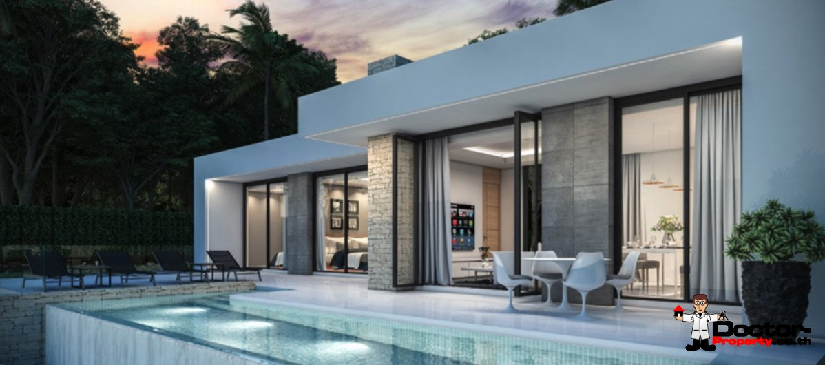 2 Bed Pool Villa in Chaweng Noi Koh Samui for sale - Real Estate Doctor Property
