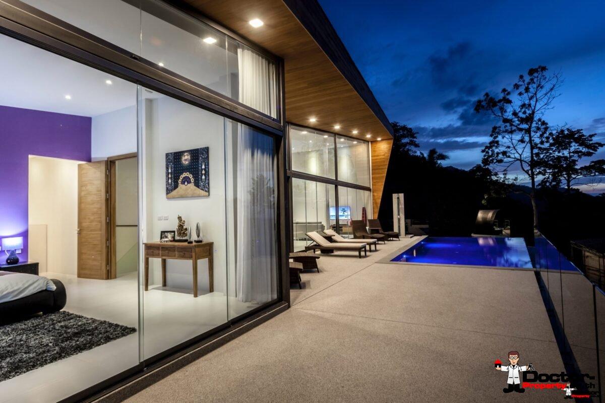 4 Bedroom Sea View Pool Villa - Mae Nam, Koh Samui - For Sale - Doctor Property Real Estate