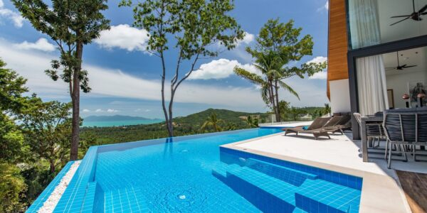 5 Bedroom Sea View Pool Villa - Mae Nam, Koh Samui - For Sale - Doctor Property Real Estate
