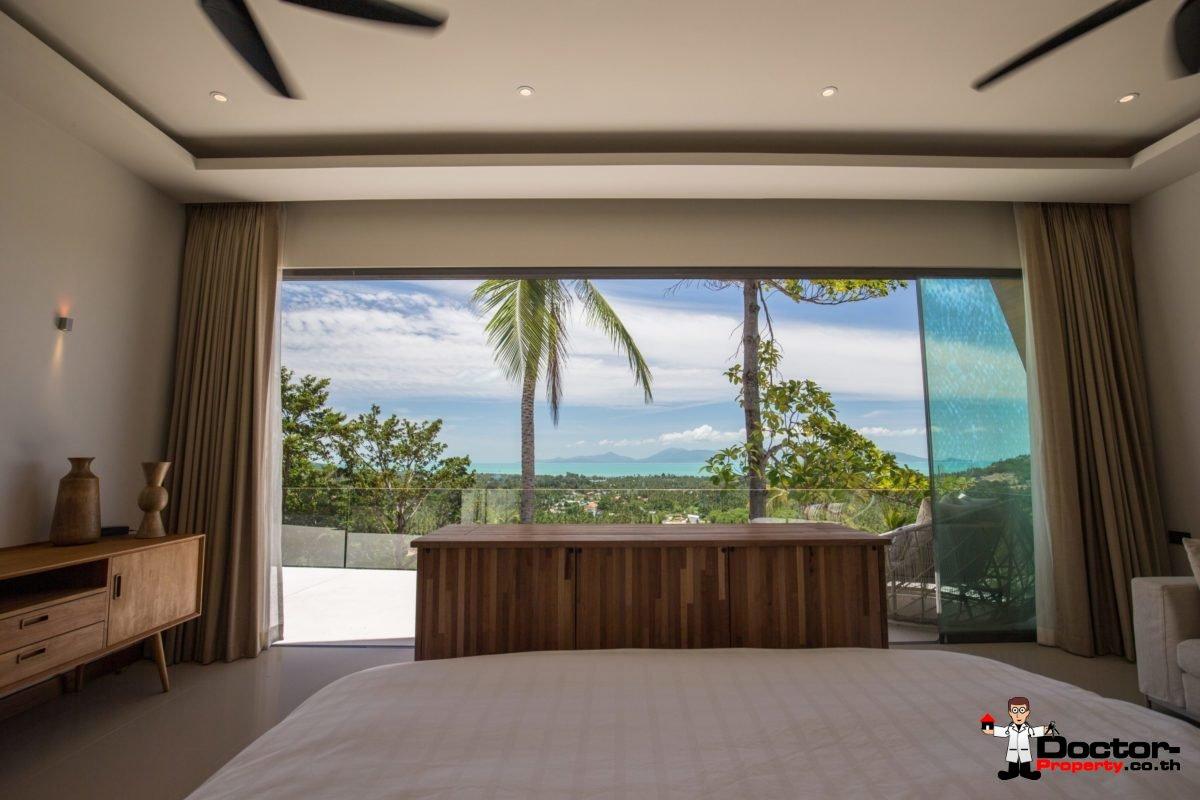 5 Bedroom Sea View Pool Villa - Mae Nam, Koh Samui - For Sale - Doctor Property Real Estate
