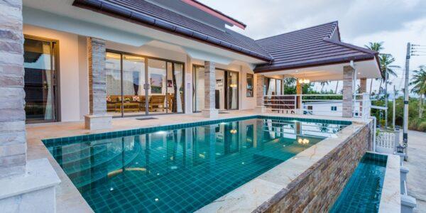 New 3 Bedroom Villa in Bophut Koh Samui for sale - Real Estate - Doctor Property