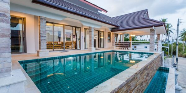 New 3 Bedroom Villa in Bophut Koh Samui for sale - Real Estate - Doctor Property