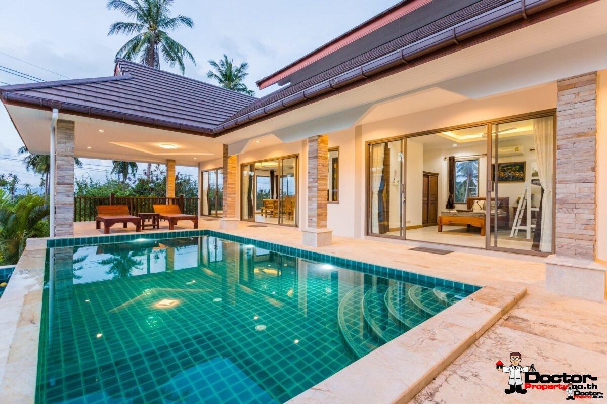Neue 3 Schlafzimmer Villa In Bophut Koh Samui Zu Verkaufen