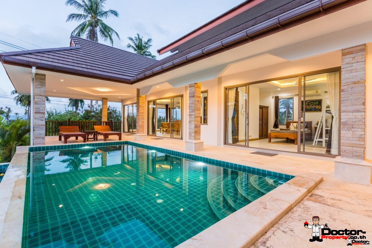 New finished 3 Bedroom Villa in Bophut, Koh Samui – For Sale - Real Estate Doctor Property