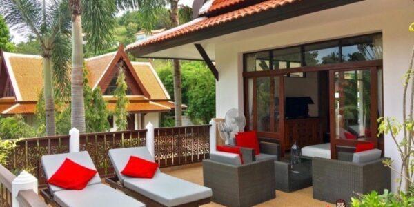 4 Bedroom Pool Villa - Bang Por, Koh Samui - For Sale