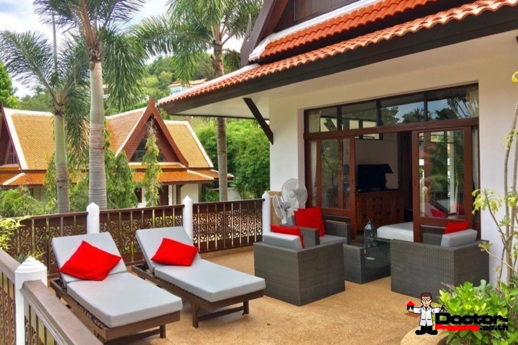 4 Bedroom Pool Villa - Bang Por, Koh Samui - For Sale