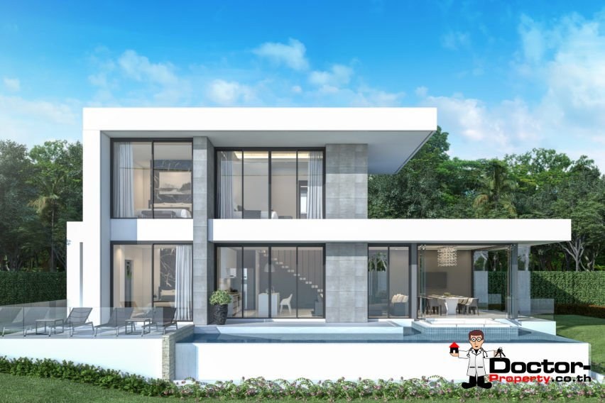 New 3 Bedroom Villa with Sea View in Chaweng Noi - Koh Samui - Doctor Property