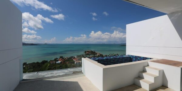 2 Bed Penthouse with Sea View and Pool - Big Buddha, Koh Samui - For Sale