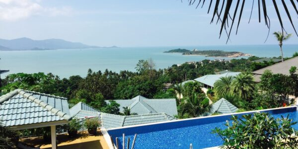 4 Bedroom Pool Villa with Double Sea Views - Plai Laem, Koh Samui - Doctor Property Real Estate