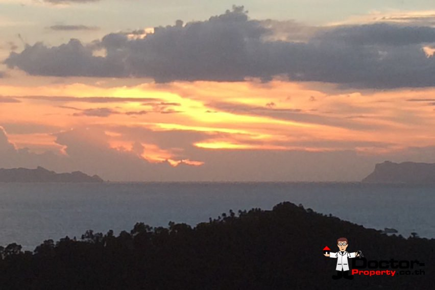 Samui Best Sunset Sea View for Sale