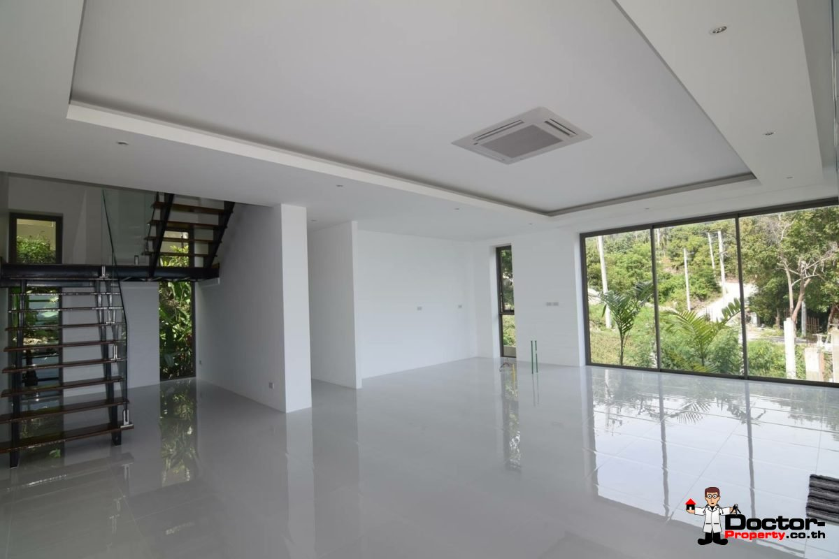 3 Bed Pool Villa with Sea View - Taling Ngam, Koh Samui - Doctor Property
