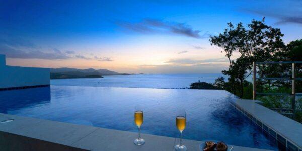 Villa 3 Bed Pool Villa with Sea Views - Big Buddha, Koh Samui - For Sale - Doctor Property