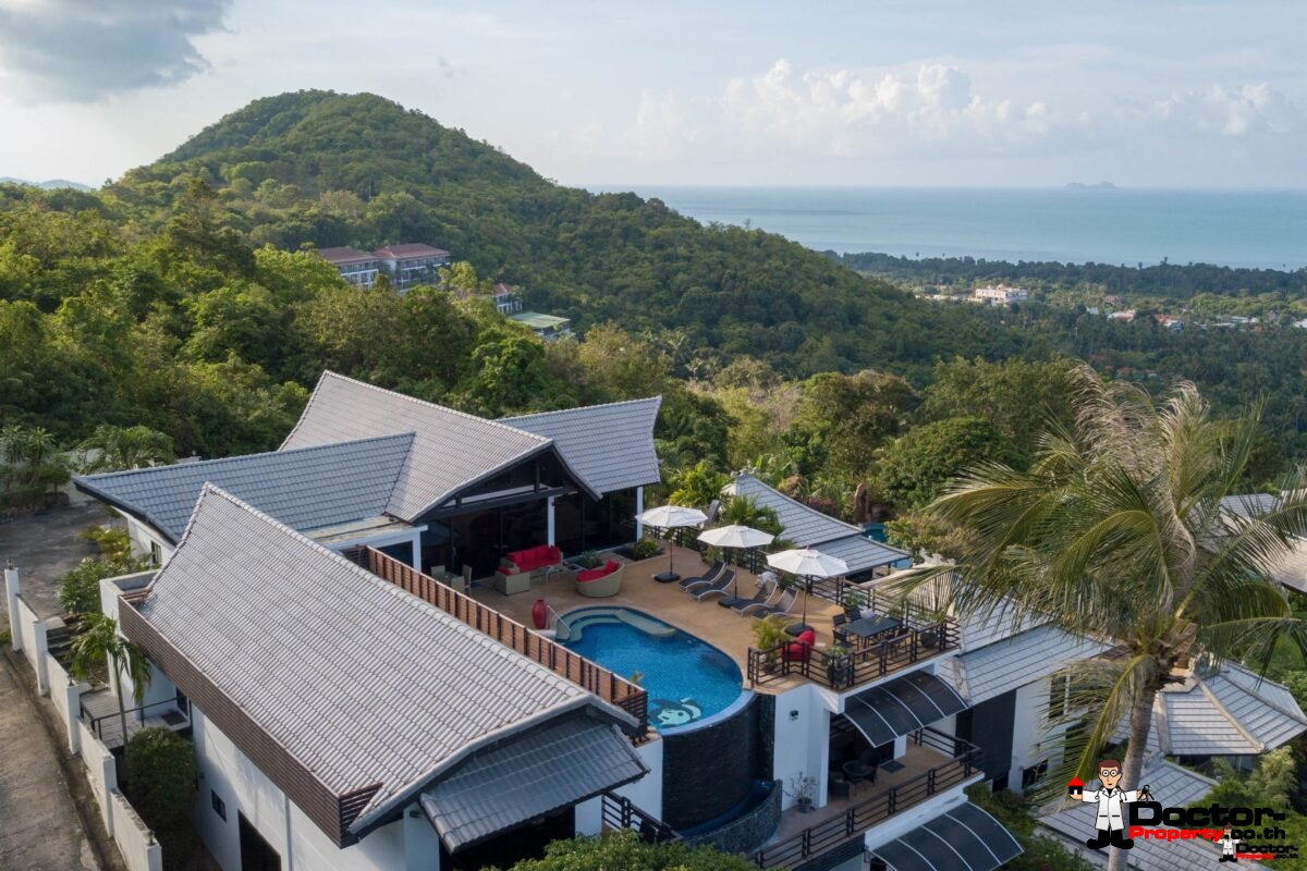 Villa and Apartments with Sea View - Bo Phut, Koh Samui - Doctor Property Real Estate