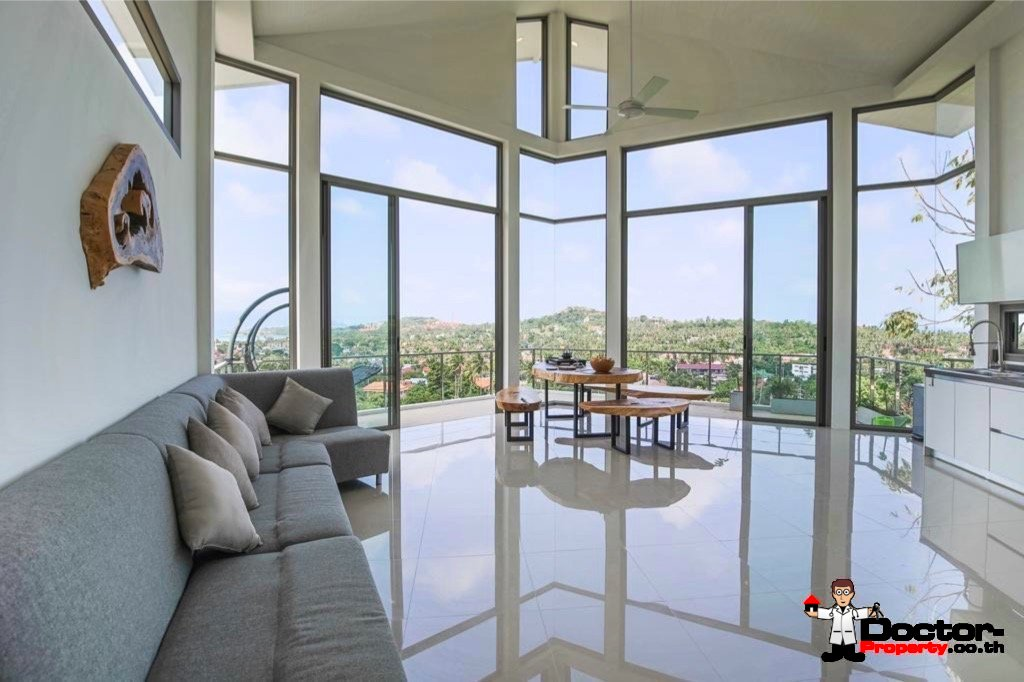 5 Bedroom Sea View Pool Villa - Plai Laem, Koh Samui - For Sale - Doctor Property Real Estate
