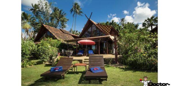 Traditional 2 Bedroom Villa beachfront in Bang Por - Koh Samui - for sale / Real Estate - Doctor Property