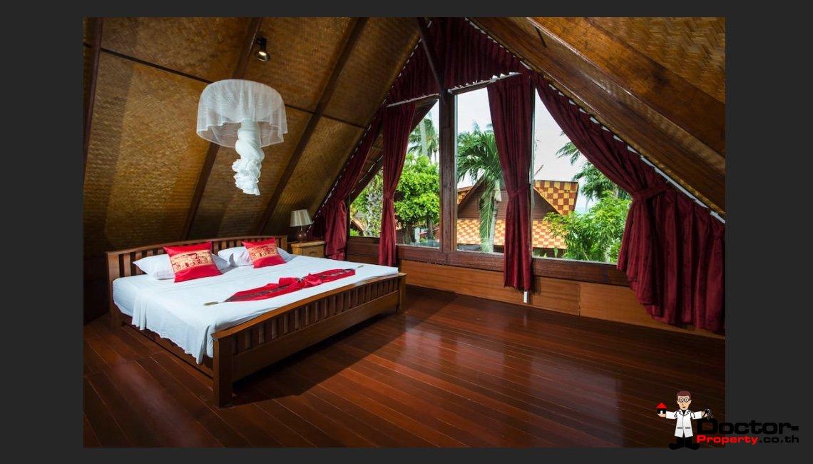 30 Meters to the beach - 2 Bedroom Villa in Bang Por - Koh Samui - for sale