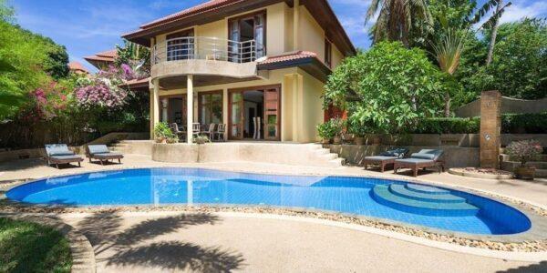 Unfinished 4 Bedroom House - Plai Laem, Koh Samui - For Sale