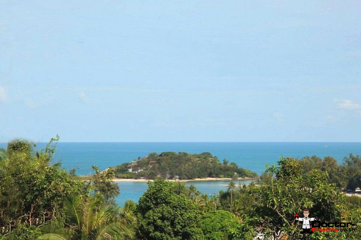 3 Bedroom Villa with sea view in Plai Laem - Koh Samui for sale