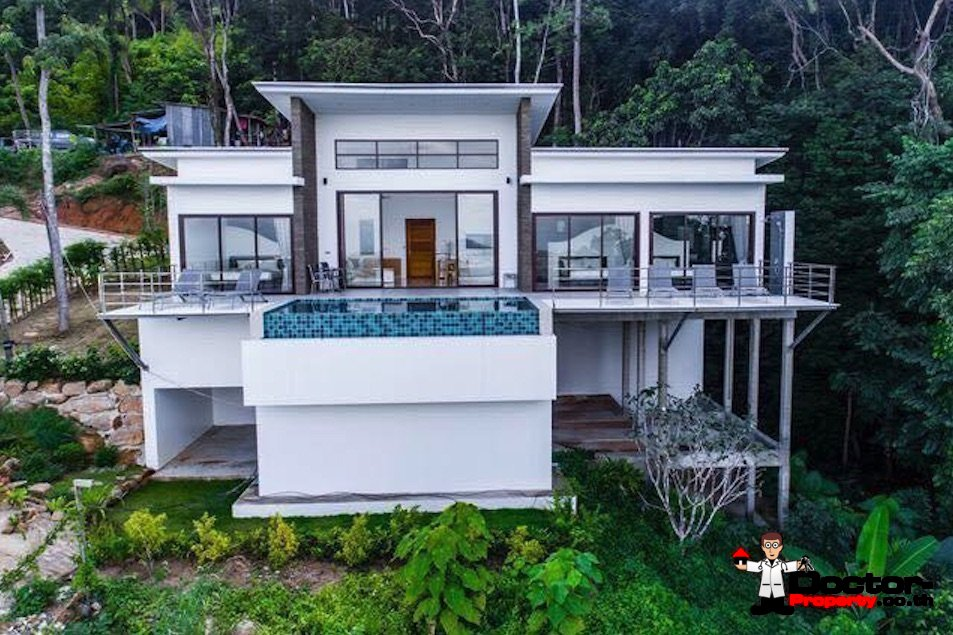 3 Bedroom Villa with sea view - Chaweng Beach - Koh Samui for sale