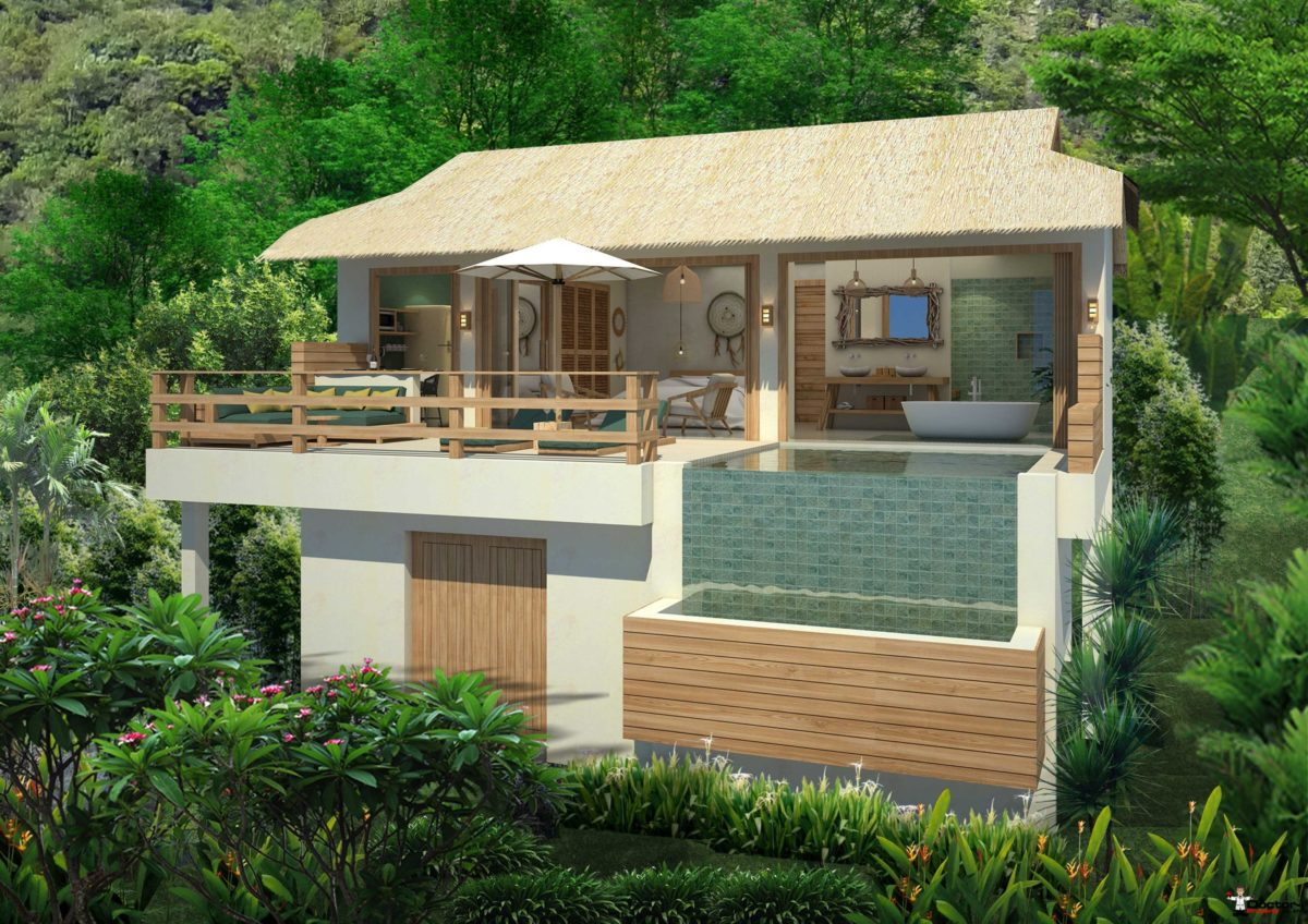 1 Bedroom Sea View Pool Villa - Lamai, Koh Samui - For Sale - Doctor Property Real Estate
