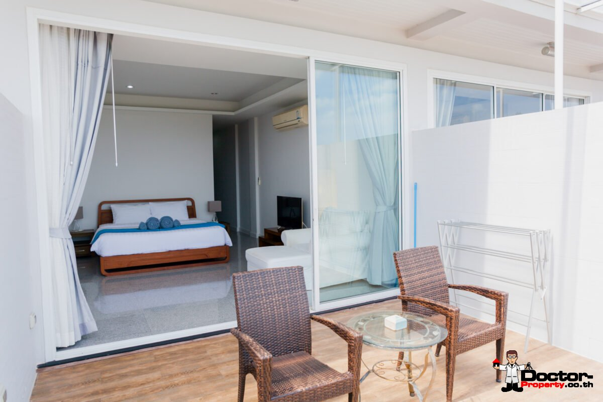 1 Bedroom Apartment with Sea View - Big Buddha, Koh Samui - For Sale