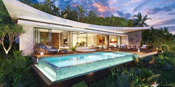 New 2 Bedroom Villa with Sea View in BoPhut - Koh Samui - For Sale