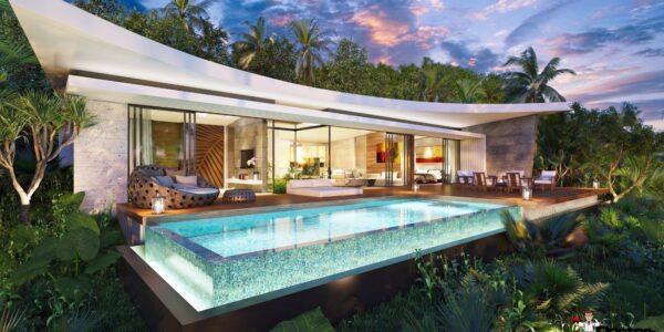New 2 Bedroom Villa with Sea View in BoPhut - Koh Samui - For Sale