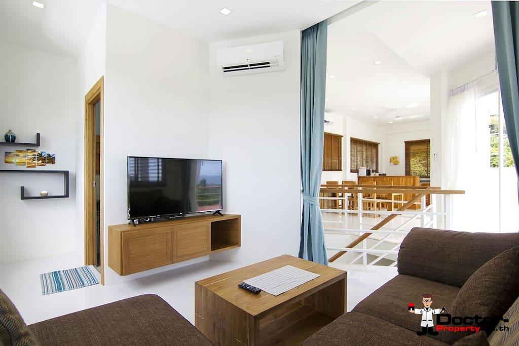 4 Bedroom Villa with sea view - Plai Laem Koh Samui - for sale