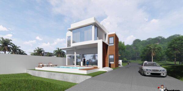 3 Bedroom Villa with sea view in Plai Laem - Koh Samui for sale